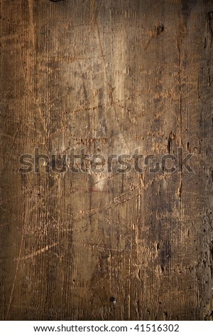 natural old wooden  background - stock photo