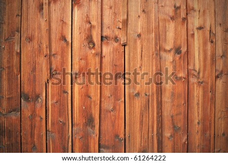 Natural old wooden texture - stock photo