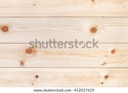 Natural pine tree planks. Texture of wood. - stock photo