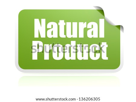 Natural product - stock photo