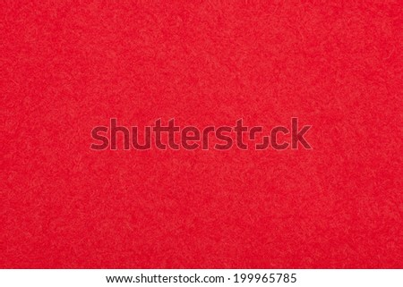 Natural Red Felt Background, Texture - stock photo