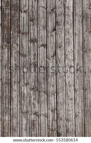 Natural Rustic Wooden Wall Plank Vertical Stock Photo Royalty Free