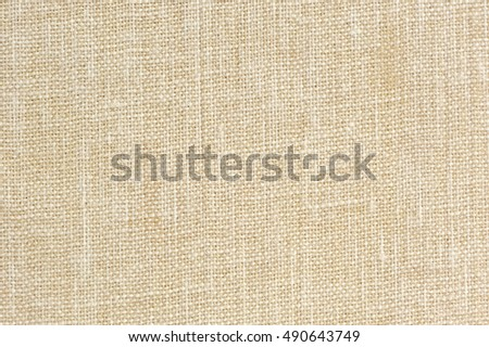 Natural Sackcloth Texture