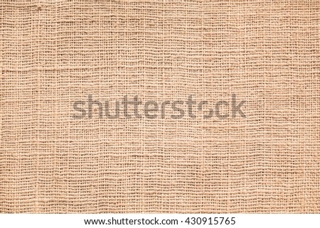 Natural sackcloth textured. brown sack texture canvas fabric for design or background. - stock photo