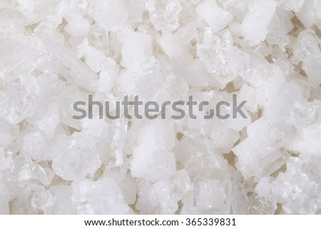 natural salt crystal texture as nice background - stock photo