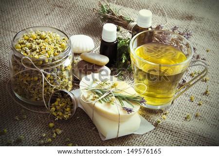 Natural Spa Treatment - stock photo