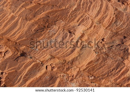 Natural stone background in Valley of Fire, Nevada, USA - stock photo