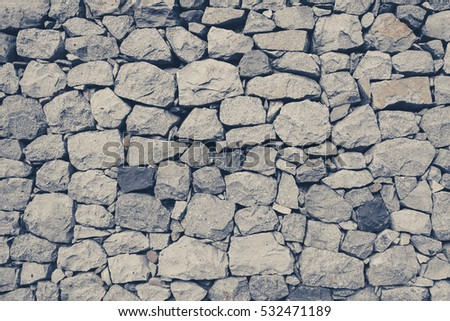 natural stone wall texture - rock background