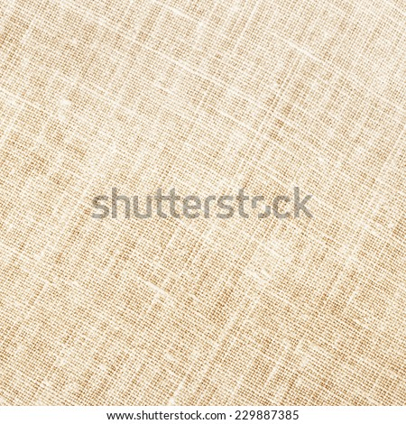 Natural textile background square/ Natural textile background