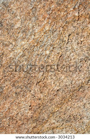 Natural Textured Granite Rock Background - stock photo