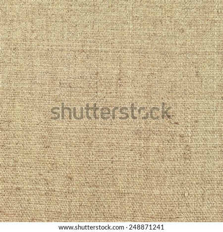 Natural textured vertical grunge burlap sackcloth hessian sack texture, grungy vintage country sacking canvas, large detailed bright beige pattern macro background closeup - stock photo