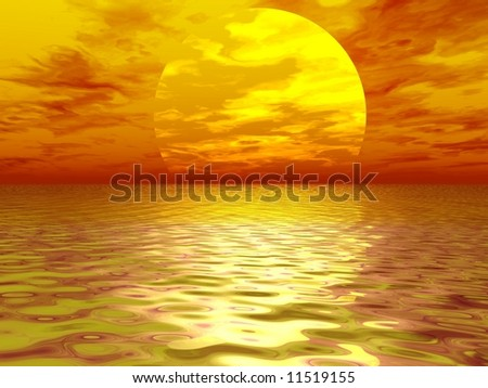 Natural View - Sunset