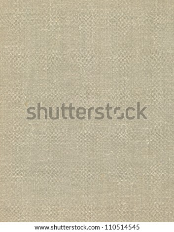 Natural vintage linen burlap textured fabric texture, detailed old grunge rustic burlap background in tan, beige, yellowish, grey canvas copy space - stock photo
