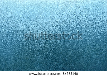natural water drop texture - stock photo