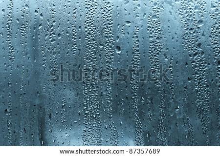 natural water drop texture - stock photo