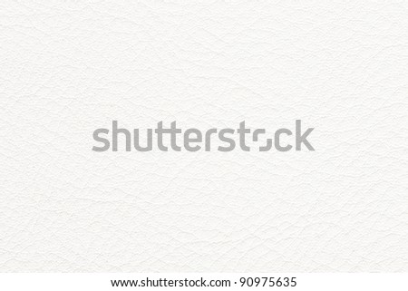 Natural white leather texture. See my portfolio for more - stock photo