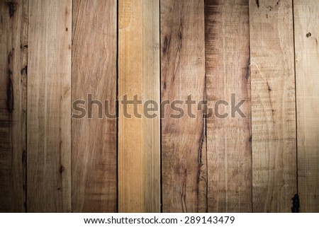 Natural Wood Background, Natural Light - stock photo