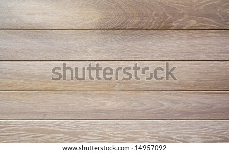 Natural wood floor panels - stock photo