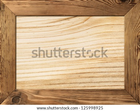 Natural Wooden Picture Frames Natural Wood Frame With Wooden