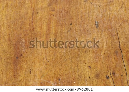Natural wood texture (An old church door) - stock photo