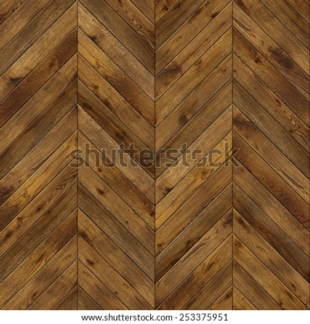 Natural wooden background herringbone, grunge parquet flooring design seamless texture for 3d interior - stock photo