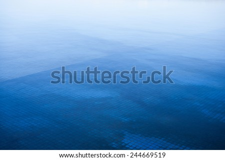 nature abstract blue background - stock photo