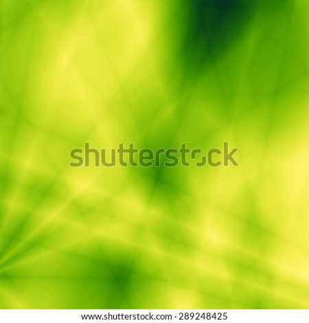 Nature abstract green leaf graphic design - stock photo