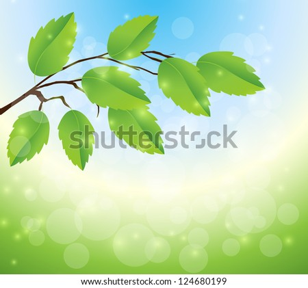 Nature background - stock photo