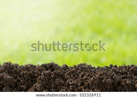 Pile of dirt stock photos images pictures shutterstock for Nature and composition of soil