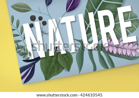 Nature Environment Green Earth Growth Natural Concept - stock photo