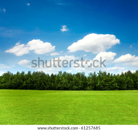 Nature, landscape - stock photo