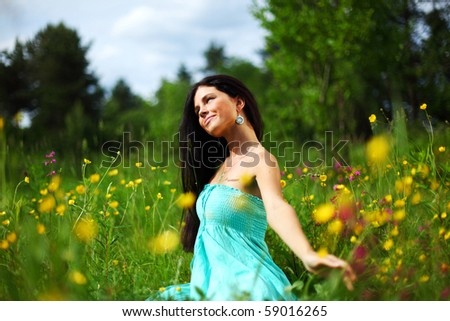 nature love - stock photo