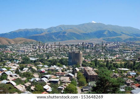 nature of Armenia,city Vanadzor