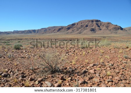Nature of Namibia, Africa - stock photo