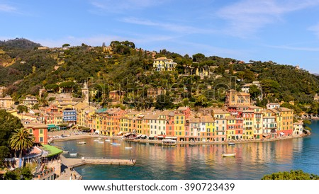 Nature of Portofino, Italy