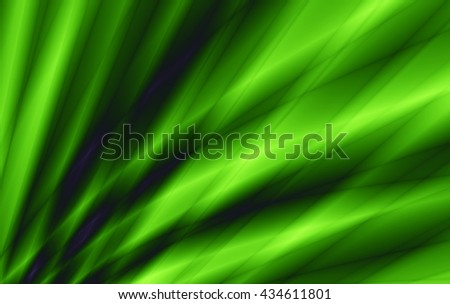 Nature power flow abstract green background - stock photo