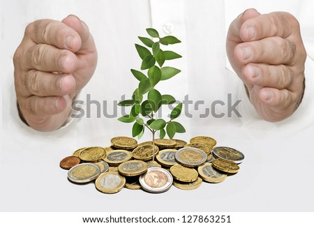 Nature protection - stock photo