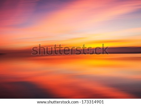 Nature's colors and motion blur for background
