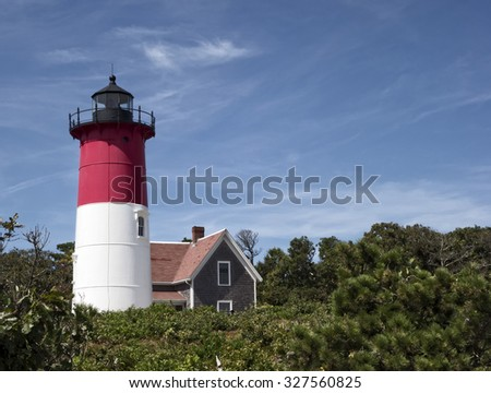 Nauset Beach Light in Eastham, Massachusetts (Cape Cod)