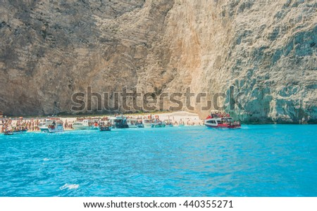 Navagio Beach Ionian Islands Greece