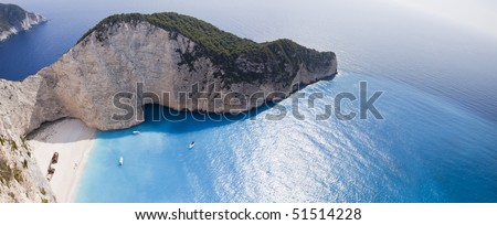 Navagio Beach-Ionian Sea