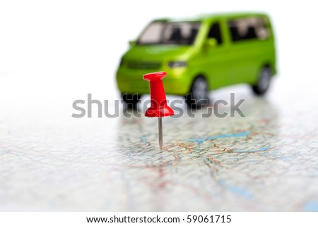 Navigation - stock photo
