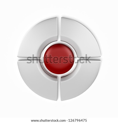Navigation Buttons - stock photo
