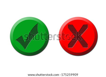 navigation web buttons - stock photo