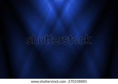 navy blue abstract line and curve background - stock photo