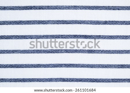 Navy Blue White Striped Cotton Fabric Stock Photo (Download Now ...