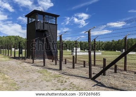 "Nazi German concentration camp ""Stutthof"" - stock photo"