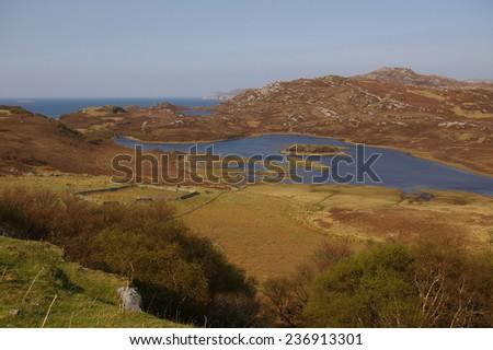 Near Bettyhill, North Coast, Sutherland, Scotland - stock photo
