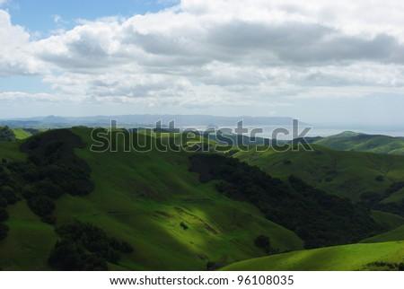 Near San Luis Obispo, California - stock photo