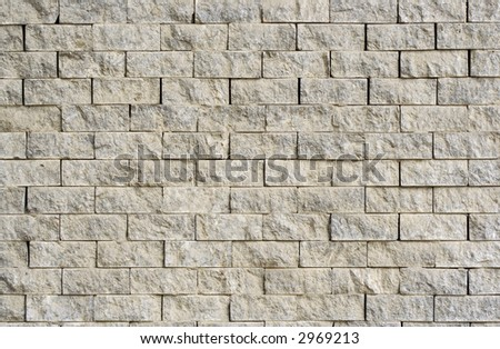 Neatly stacked marble – granite slabs - stock photo